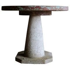 Vintage Garden Table from France, circa 1950