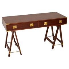 Antique Military Campaign Style Desk