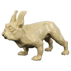 Art Deco French Bulldog Sculpture