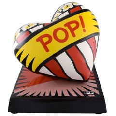 "Burton Morris for Goebel, Porcelain sculpture, ""Love Pop!"""