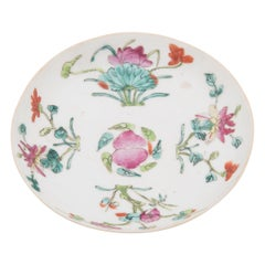 Chinese Famille Rose Four Seasons Plate, c. 1900