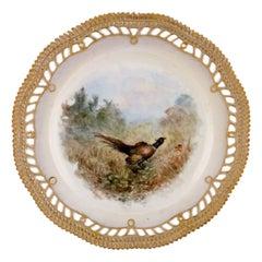 Early and Rare Royal Copenhagen Fauna Danica Plate