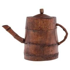Chinese Bamboo Teapot, c. 1900