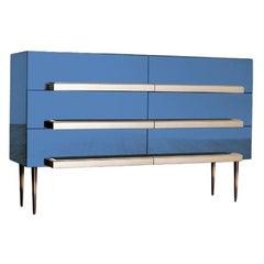 Illusion Dresser Ultramarine Blue by Luis Pons