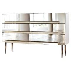 Illusion Dresser Mirror by Luis Pons