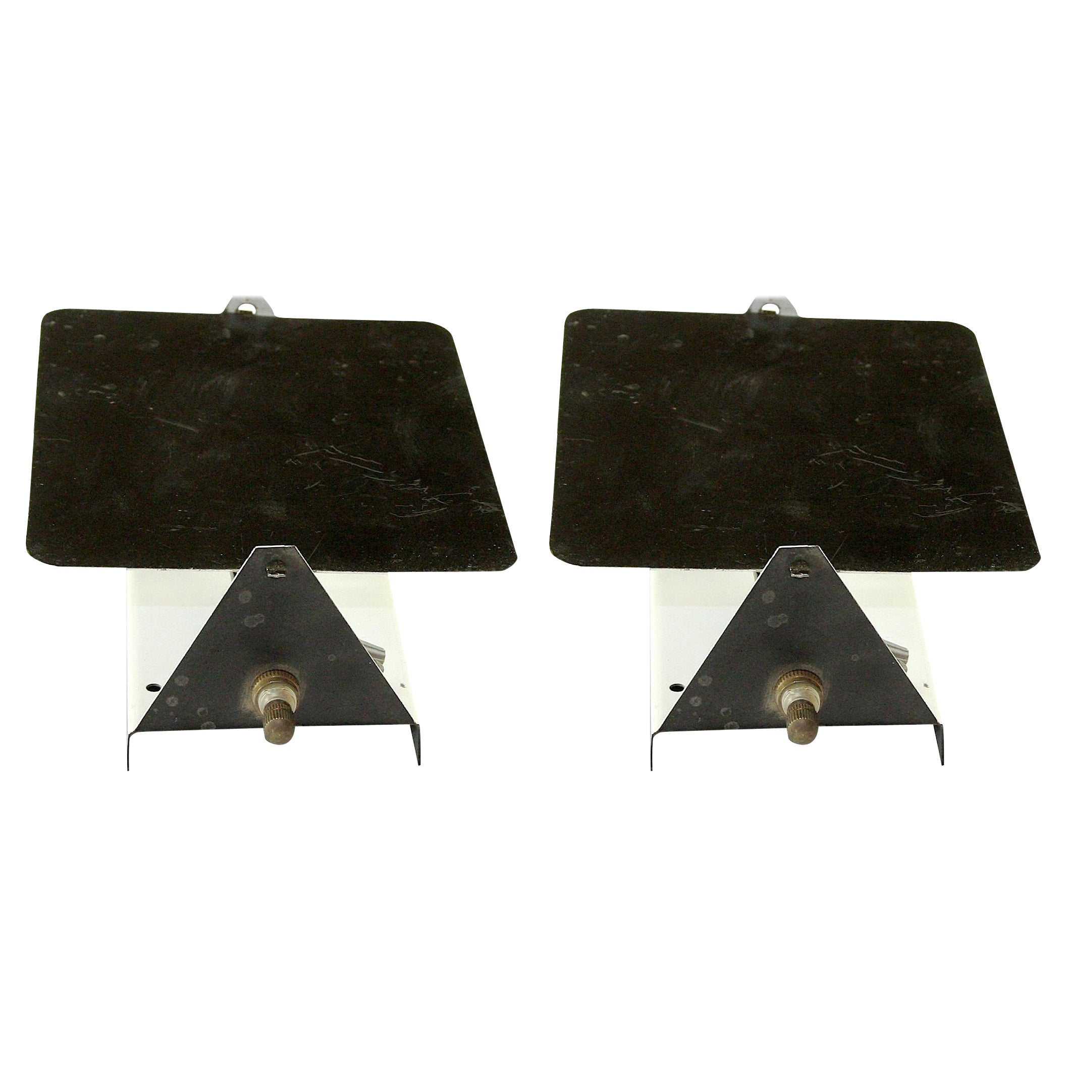Charlotte Perriand CP-1 Pair of Sconces