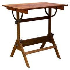 Antique Drafting Table/Dining Table/Desk, c.1930