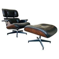 1970s Herman Miller Eames Lounge Chair and Ottoman