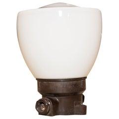 Industrial Ceiling Lamp, 1960's, Czechoslovakia