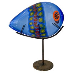Mid-Century Murano Glass Fish by Antonio Da Ros, Cenedese, Murano, Italy, 1960s