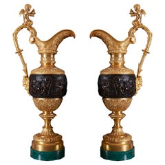 Pair of Vases 19th Century Century Louis XVI