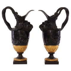 19th Century Vases after Claude Michel Clodion