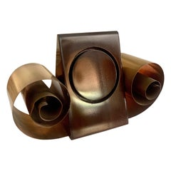 Metal Scroll Style Bookends