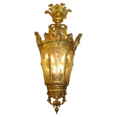 Magnificent Russian Giltwood Lantern