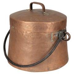 19th Century Copper Stock Pot