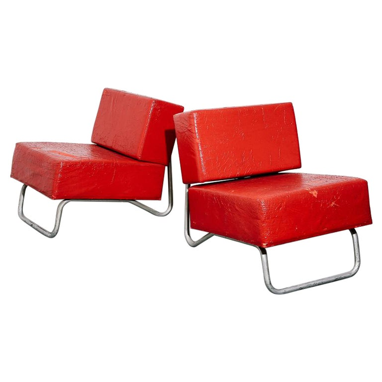 Italian Modernist Lounge Chairs
