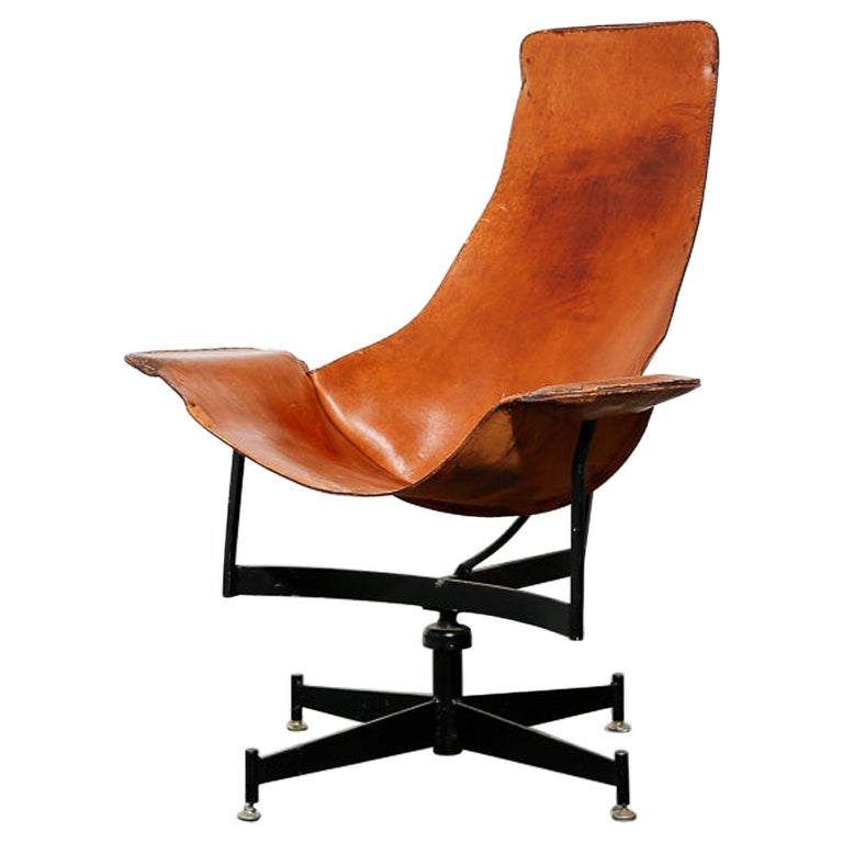 'K-Chair' by William Katavolos for Leathercraft For Sale
