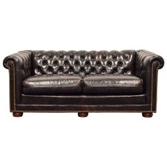 Chesterfield Leather Sofa by Leathercraft, 1970s