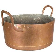 19th Century French Copper Pot