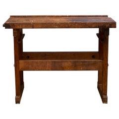 Antique American Carpenter's Workbench, c.1910-1930