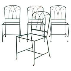 Maurizio Tempestini for Salterini Iron Garden Patio Chairs, c.1940