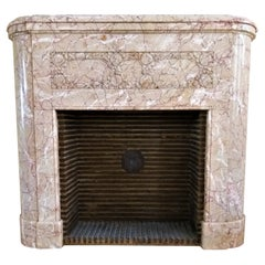 Art Déco Fireplace from France, ca. 1924
