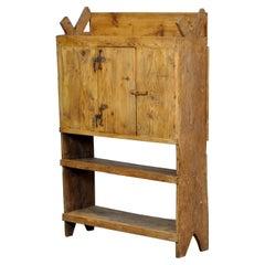 Antique Moldavian Pine Country Farmhouse Cabinet, circa 1850