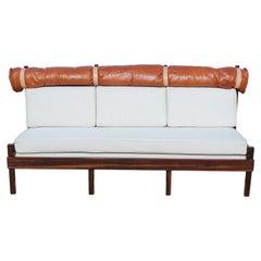 """Tonico"" Series Sofa by Sergio Rodrigues, c 1963"