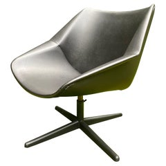 Black Mid-Century Modern Pastoe Swivel Chair by Cees Braakman, Model FM08