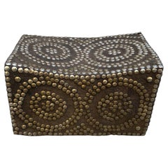 African Royalty Studded Stool