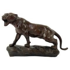 Thomas Francois Cartier, Bronze Panther, c. 1910