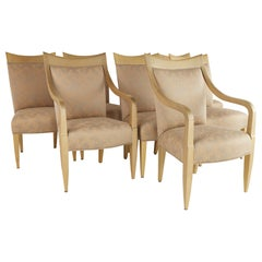 Donghia Contemporary Lacquered Dining Chairs, Set of 8