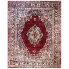 Antique Persian Sarouk Carpet, Classic Design