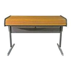 Industrial Roll Top Desk by Herman Miller