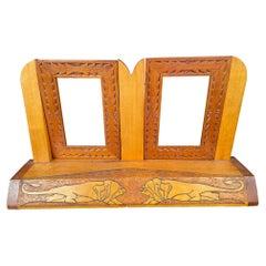 Antique Art Deco Double Dresser Frame 1930