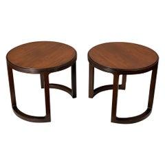 Pair of Unusual Side Tables by Dunbar