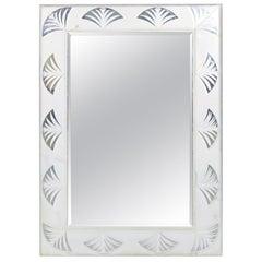 Vintage Lucite Wall Mirror