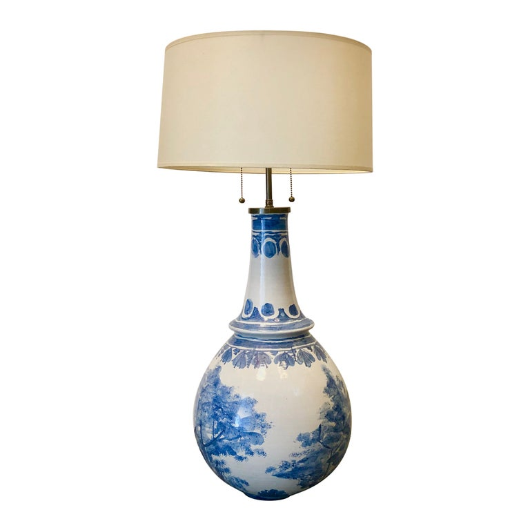 Large Table Lamp by Bjorn Wiinblad For Sale