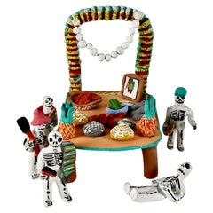 Mexican Day of the Dead Ceramic Collection