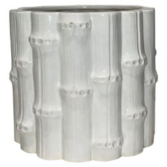 Vintage Rubel Ceramic Bamboo Vase or Planter