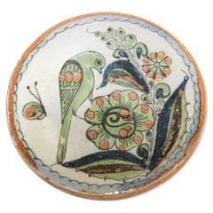 Handcrafted Ken Edwards Small Tonala Mexico Folk Art Pottery