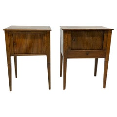 19th Century Dutch Oak Side Tables