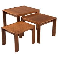 Three Tables Cassina Model 777 by Tobia e Afra Scarpa