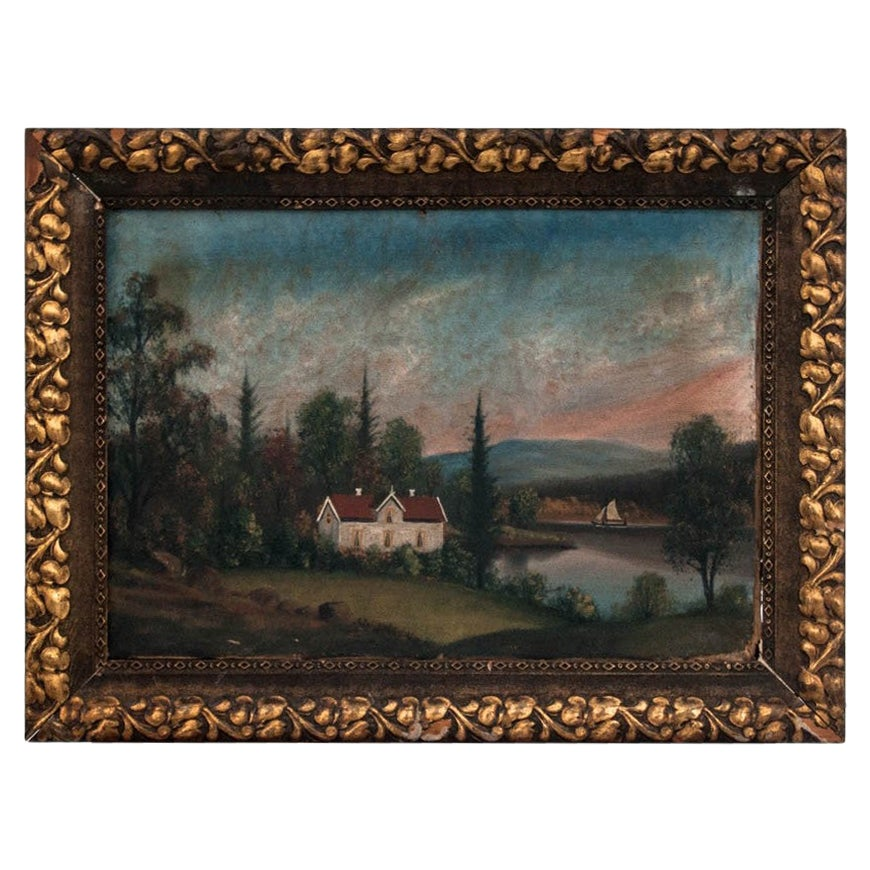 """Painting """"House by the Lake"""""""
