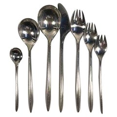 Cohr Trinita Sterling Silver Set for 6 People '42 pcs'