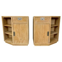 Pair of Henredon Bel Air Collection Cabinets