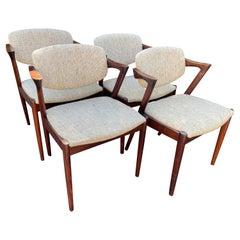 Set of 4 Santos Rosewood Dining Chairs by Kai Kristiansen