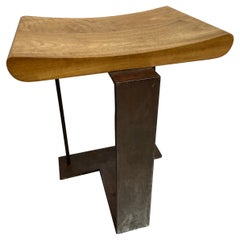 """Pierre Chareau, SN3 Stool Called """"T"""", 1927"""