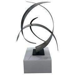 Curtis Jeré Artisan House Modern Steel and Copper Sculpture, 2009