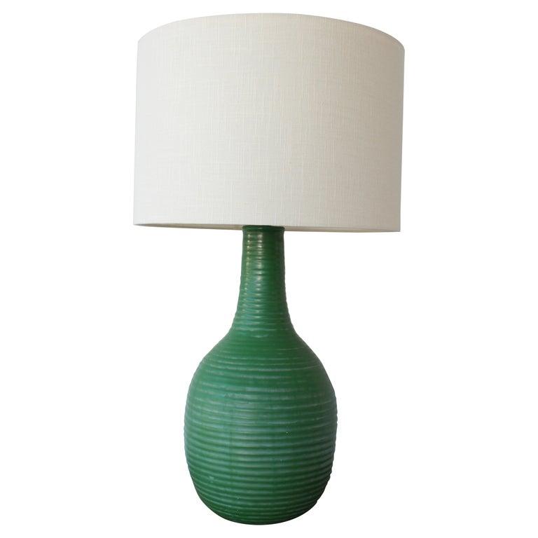 1950s Mid-Century Ceramic Lamp For Sale